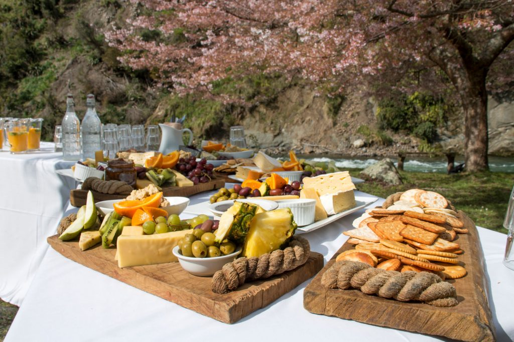 River Valley Lodge Wedding Catering