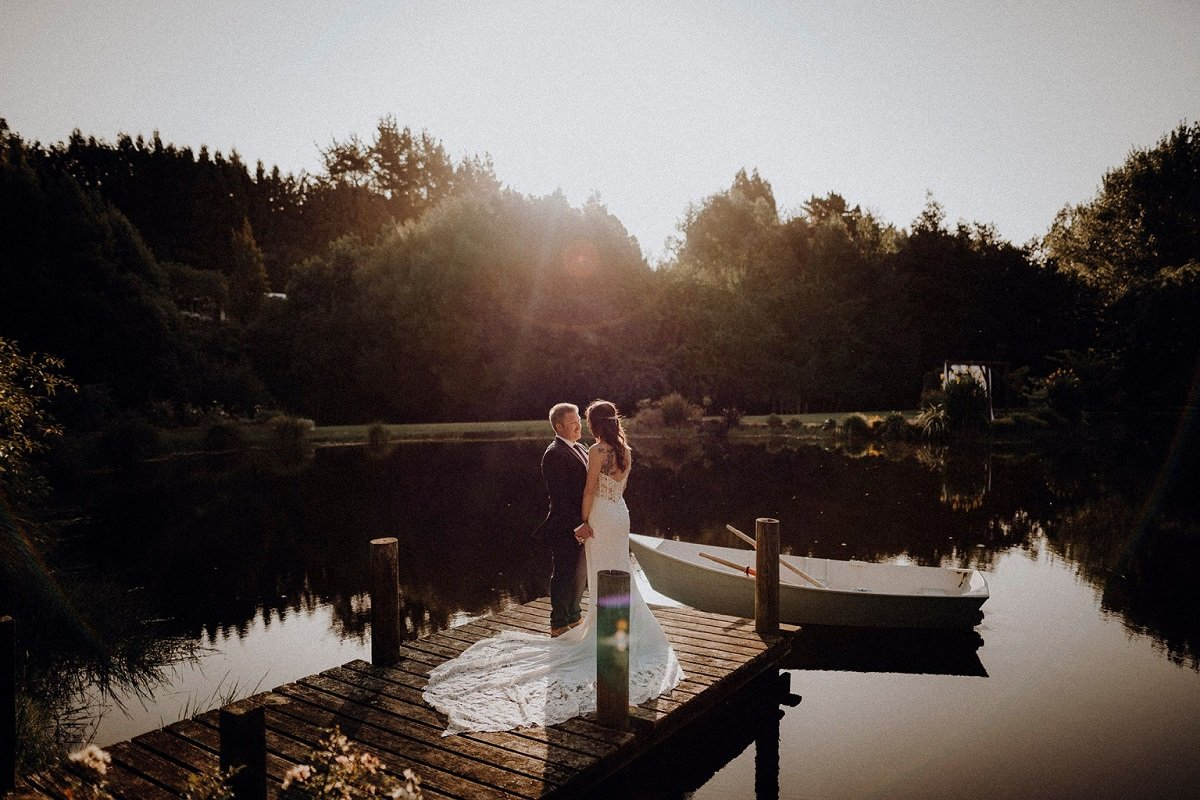 Golden Hour Wedding Photo By Picture Perfect Photography
