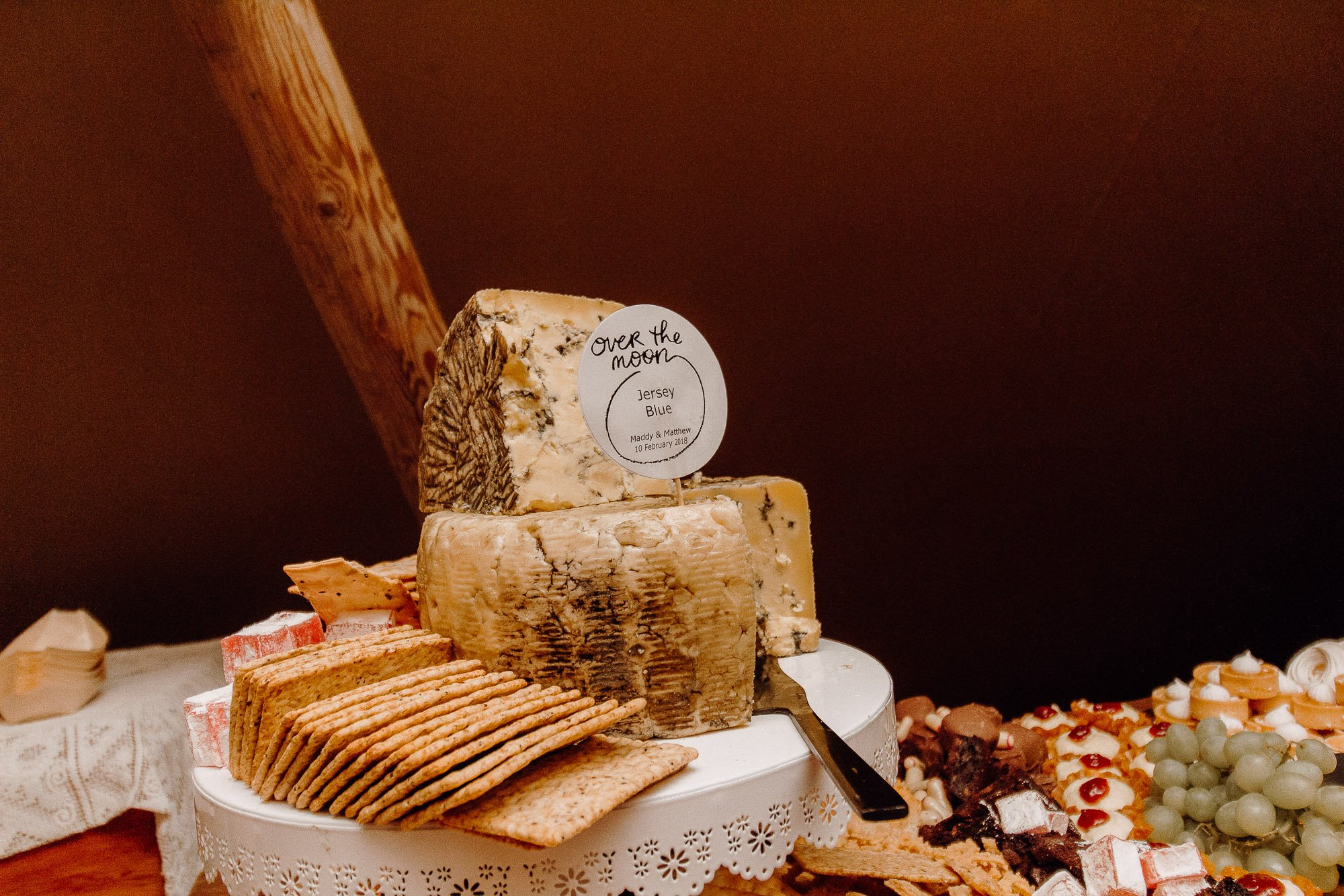 Wedding Photography Of Grazing Table Ideas 006. The multi tiers of cheese form the centre piece of this grazing table that is desert themed.