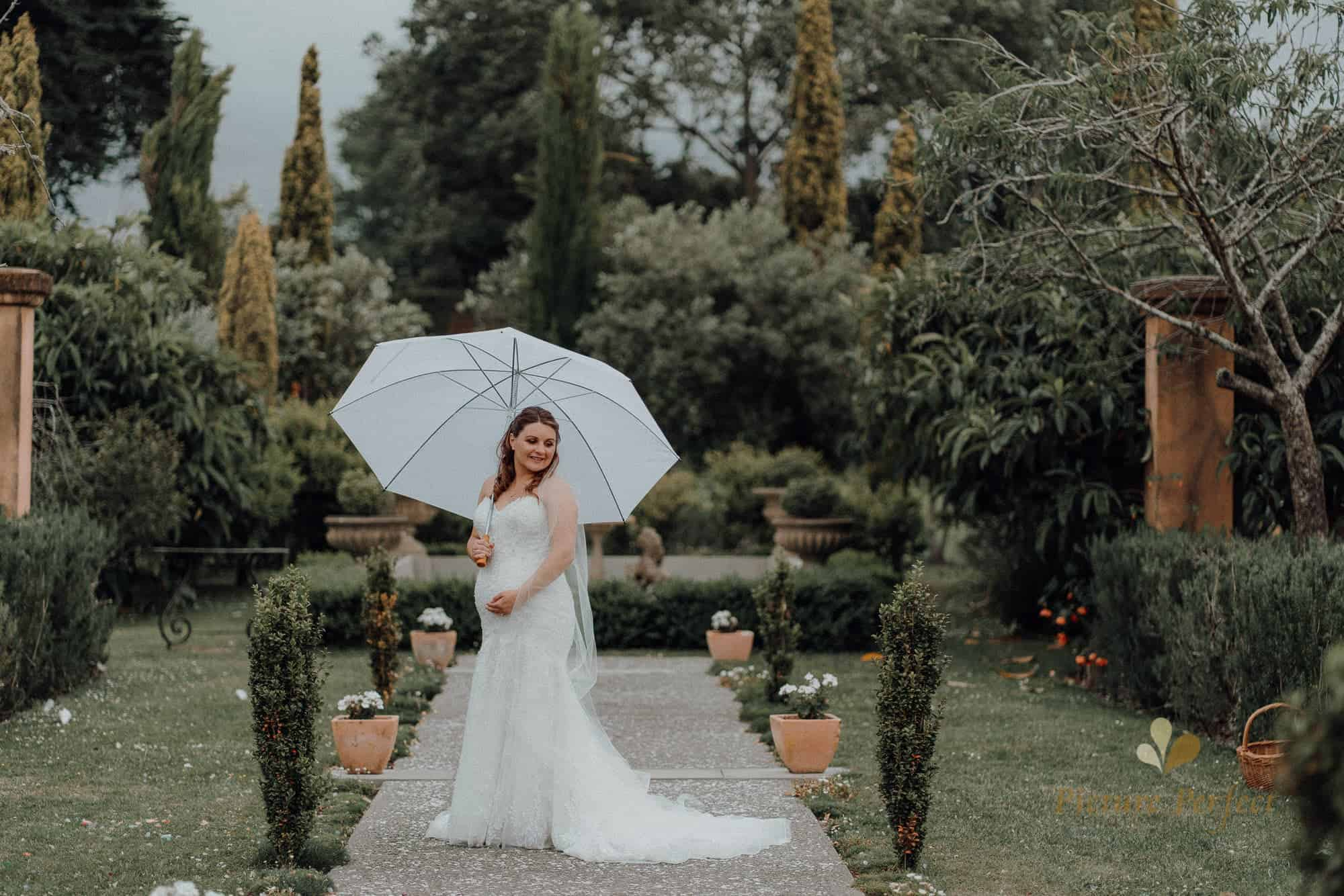 NZ wedding photography of a beautiful pregnant bride at Milk Station