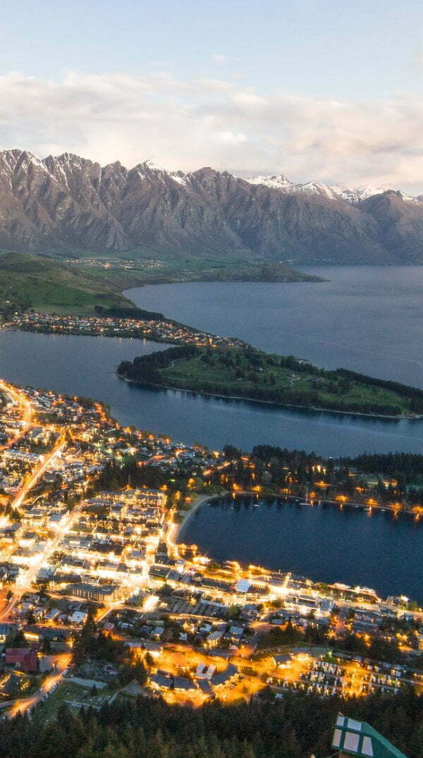 Queenstown City New Zealand