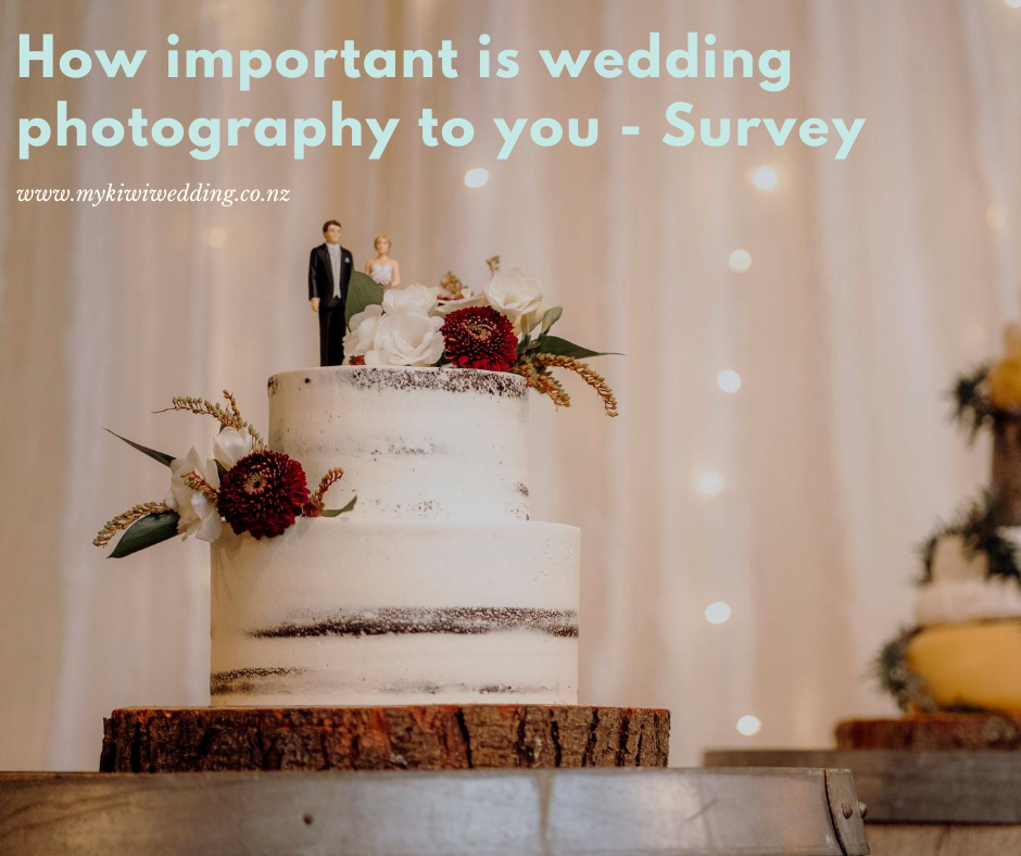 How Important Is Wedding Photography Survey
